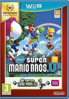 Super Mario Bros. U Nintendo Wii U - MINT - Super FAST First Class Delivery FREE