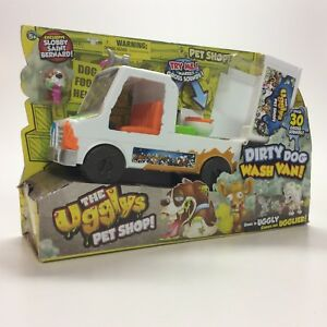 bd26575407 The Ugglys Pet Shop Dirty Dog Wash Van Truck w  Sickly Sounds ...