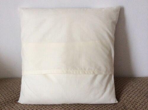 "NEW 14/"" PLAIN MINT AQUA CUSHION COVER PILLOW BED SOFA MORE COLOURS SIZES AVAIL"