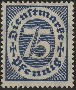 Stamp-Germany-Official-Mi-069-Sc-O14-Dienst-Deutsches-Reich-Empire-Germania-MNH