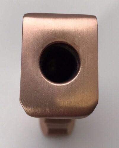 Brushed Copper Rose Gold Pistol Grip Shift Knob Hot Rod Rat Rod Muscle Car