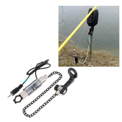Iron Hanger Swinger with Blue Indicator Light for Fishing Bite Alarm Multi-Color