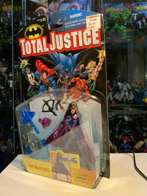 Kenner Total Justice 5-6in action figures Opened