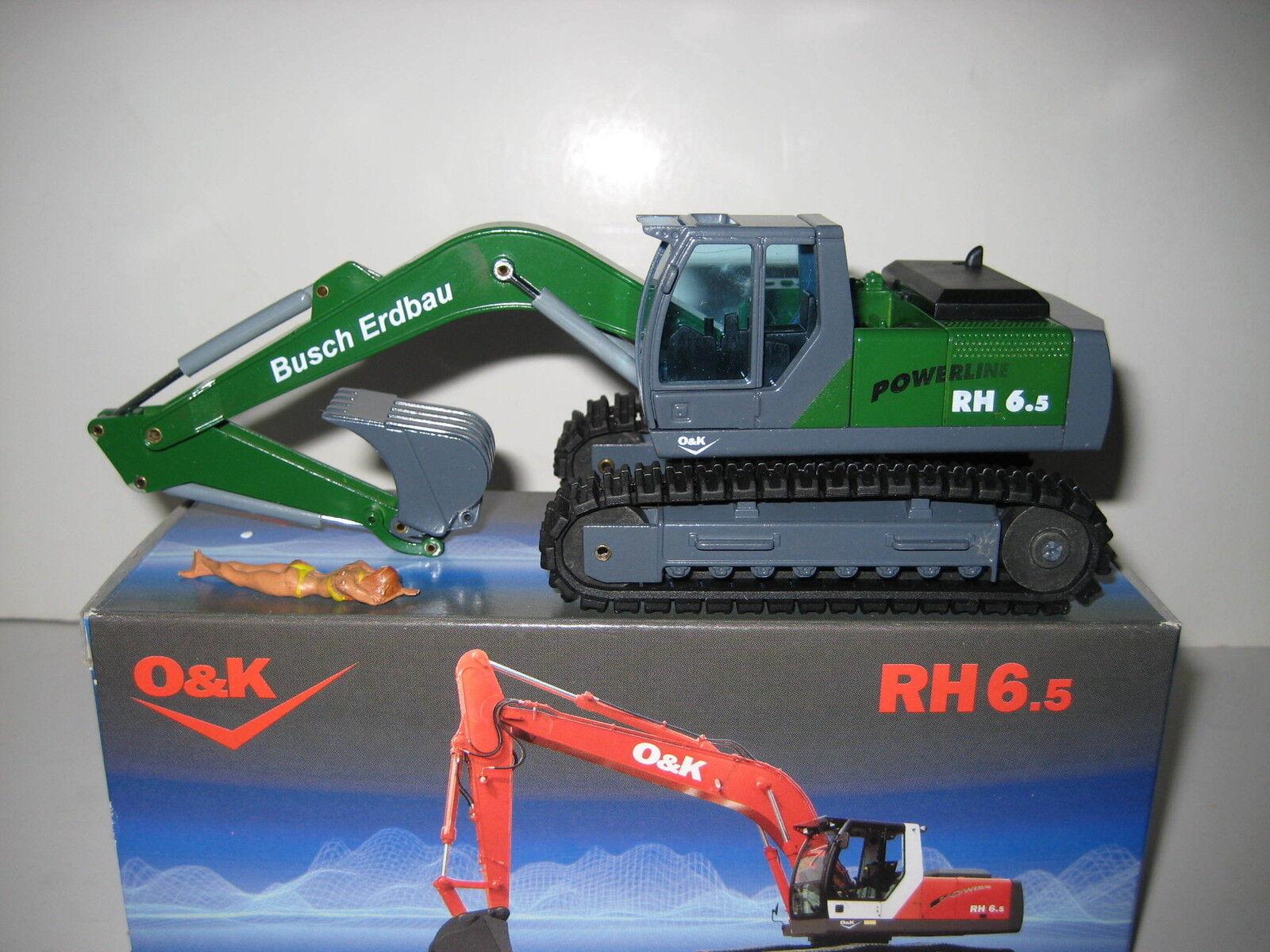 O&k RH 6.5 Excavateurs tieflöffel Busch le domaine du terrassement  469 NZG 1 50 neuf dans sa boîte