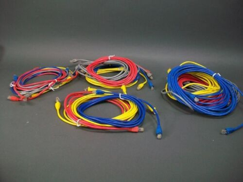 Cat 5 Cable Assortment 20 Cable in 6 Different Lengths 3,5,7,10,14 /& 25 FT