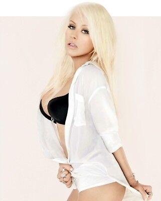 Christina Aguilera Color 8x10 Photo #24