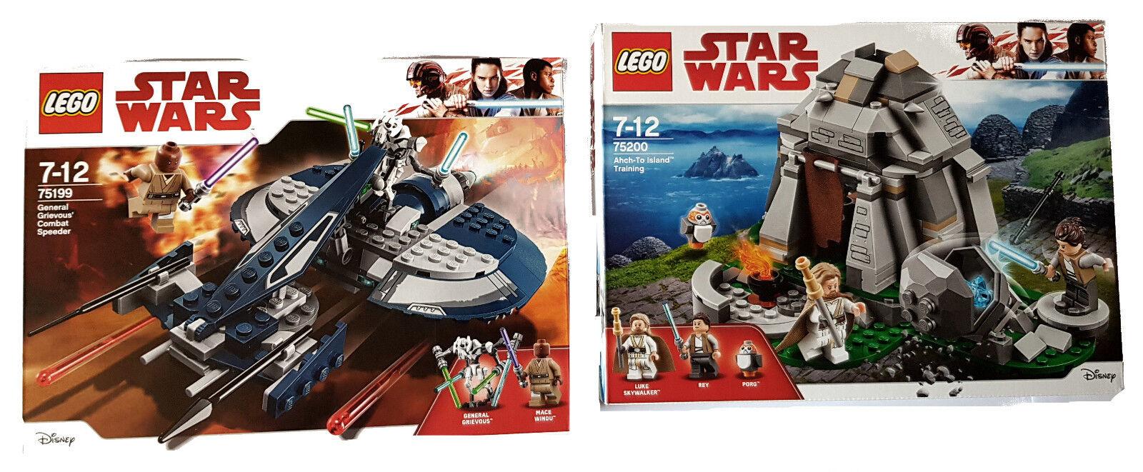 Training Lego G Ahch Combat To Star Grievous 75199 Wars 75200 Island Jcu31TlKF