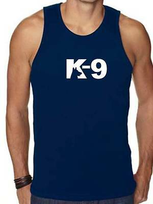 "New For Mens Printed ""K-9"" MMA Funny Graphic Design HIP HOP Tank Top Shirt"