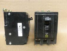 QOB3100 Square D 3 Pole Bolt-on 100 Amp Thermal Magnetic Miniature Breaker 240 Volt 100 Amp QOB3100 100 Amp