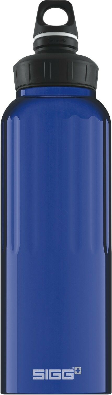 Sigg botella botella botella de 1,5 l Alu botella travel bottle bouteille outdoor azul azul e3501c