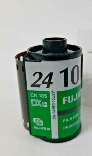 10 Pellicole 35mm Rullino Colore Fujifilm Fujicolor-cn 24 100 ASA 135-24-bulk