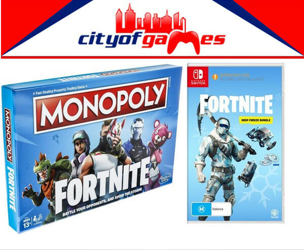 Monopol fortnite edition & fortnite deep freeze - spiel bündeln bündeln