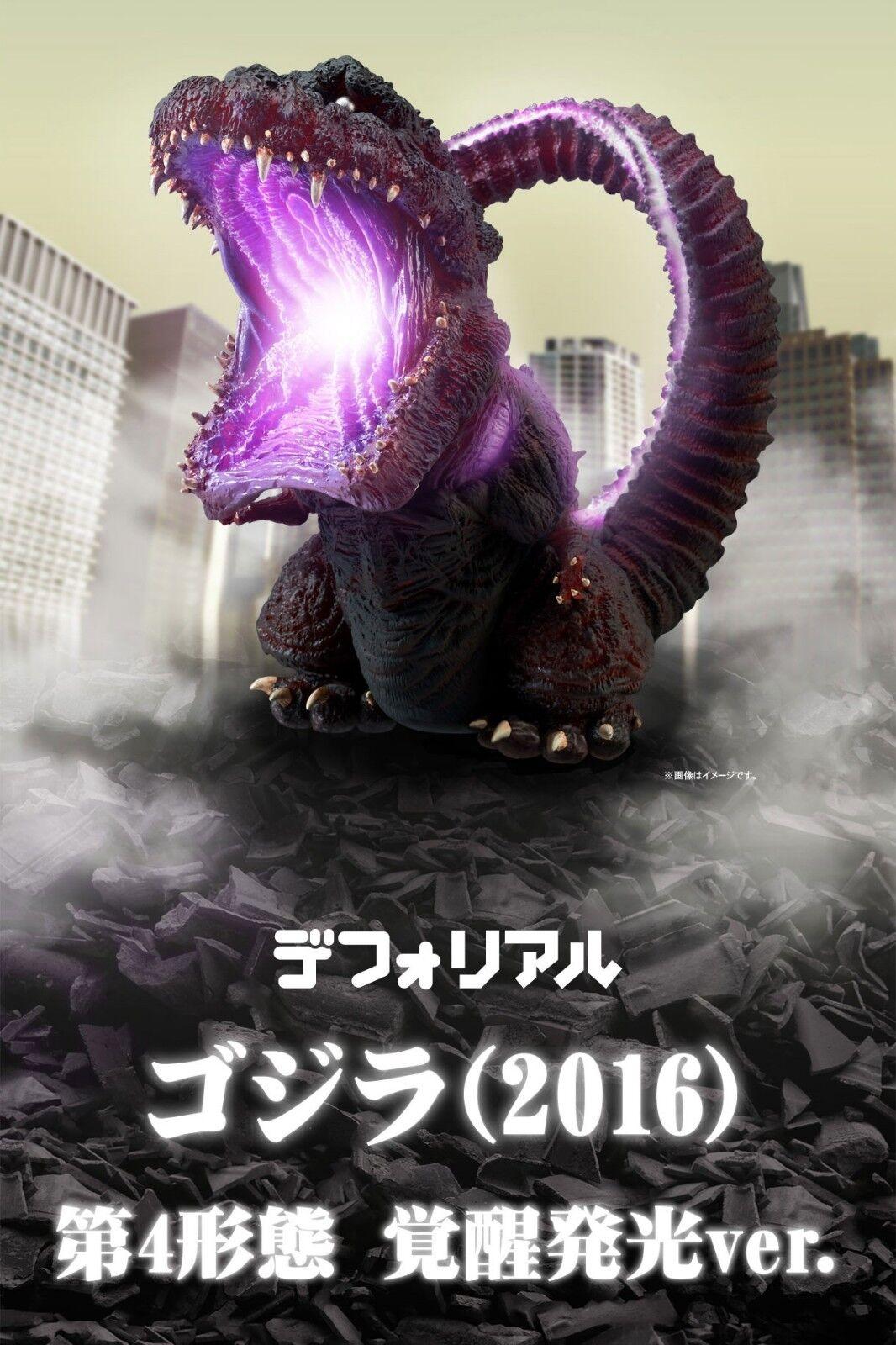 DefoReal Godzilla 2016 4th Awakening Lighting Series Versión X-Plus Defo Real