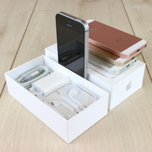 Apple IPhone SE 32GB 64GB Grau Rosegold Silber Gold TOP Zustand inkl. OVP