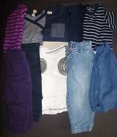 Baby boy bundle of 10 from various brands Items size 4-6 months