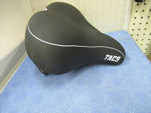 Viscount TAC9 Black Cruiser Comfort Bicycle Saddle with Springs New