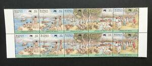 AUSTRALIA-1988-Bicentenary-Arrival-of-First-Fleet-2-x-Set-MNH-SG-1105a