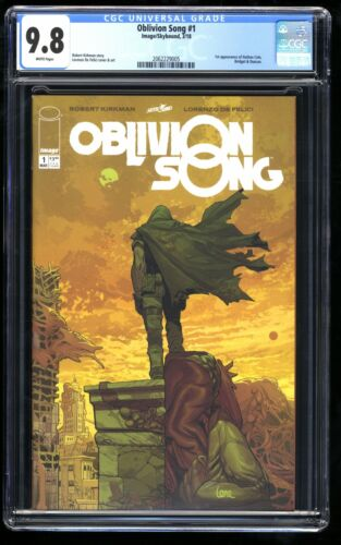 Oblivion Song #1 CGC NM//M 9.8 White Pages
