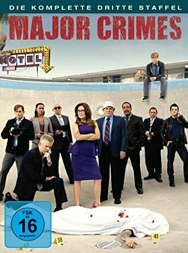 Dvd R2 Major Crimes 2014 Tv Series Season 3 Mary Mcdonnell Region 2 Pal For Sale Online Ebay