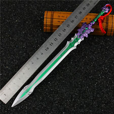 The legend of Chinese sword Jian Wang 3 Full metal zither sword 玉清玄明剑 with STAND