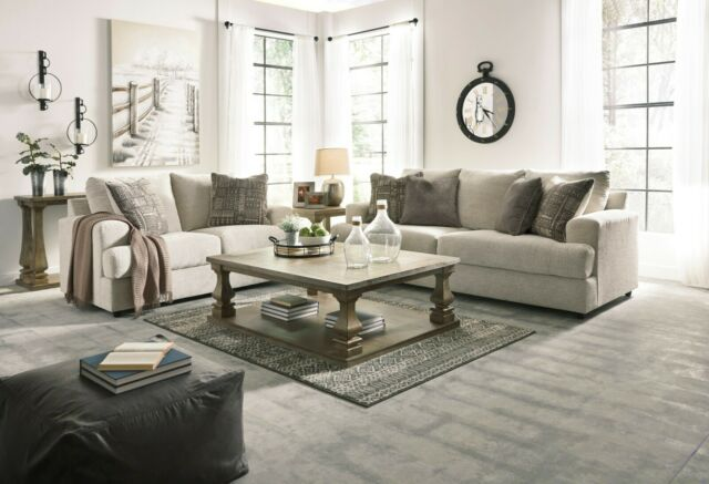 Ashley Furniture Soletren Stone Sofa