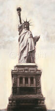 Talantbek Chekirov: Statue of Liberty, N.Y.C Fertig-Bild 50x100 New York