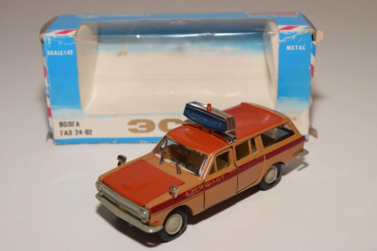 B RUSSIAN CAR USSR CCCP NOVOEXPORT VOLGA GAZ TA3-2402 BONRA AEROFLOT VNM BOXED