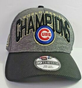 New-Era-Chicago-Cubs-World-Series-Champions-2016-Official-On-Field-Cap-NWT