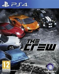 The-CREW-PS4-Playstation-4-MINT-1st-Class-FAST-amp-FREE-Delivery