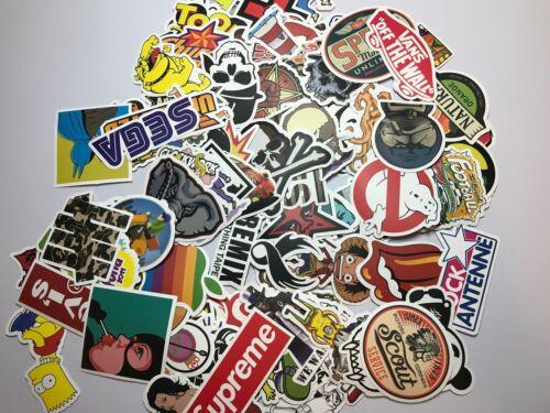 100 Skateboard Stickers bomb Vinyl Laptop Luggage Decals Dope Sticker Lot best