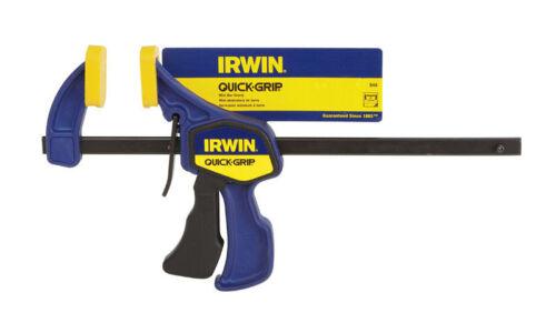 x 2 7//16 in Irwin  Quick-Grip  6 in D Heat Treated Steel  Bar Clamp