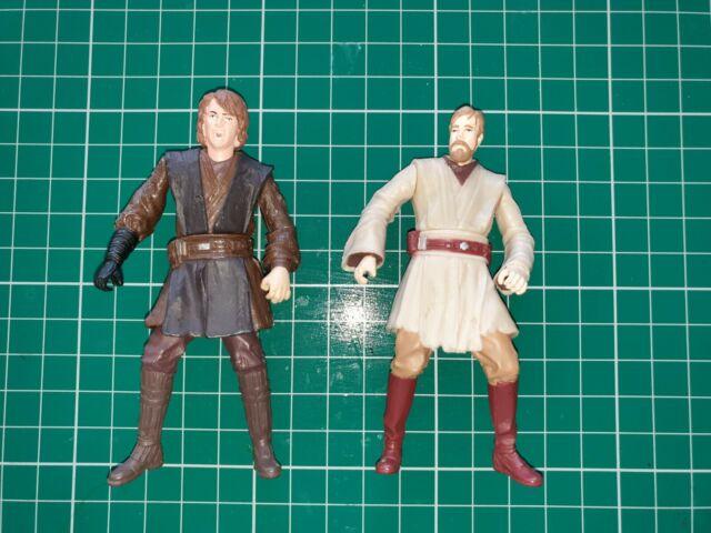 Star Wars. Obi Wan Kenobi - Anakin Skywalker job lot 3.75 figure bundle