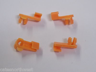 4 Honda RH DOOR LOCK END ROD CLIPS  RIGHT PURPLE 4mm Rod 6mm Hole
