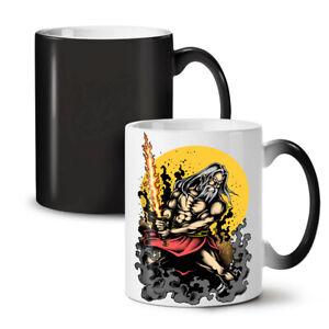 Warrior Sword Art Fantasy NEW Colour Changing Tea Coffee Mug 11 oz | Wellcoda