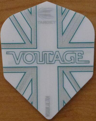 "5X3 5 Sets Target Rob Cross /""Voltage/"" Pro 100 Dart Flights."