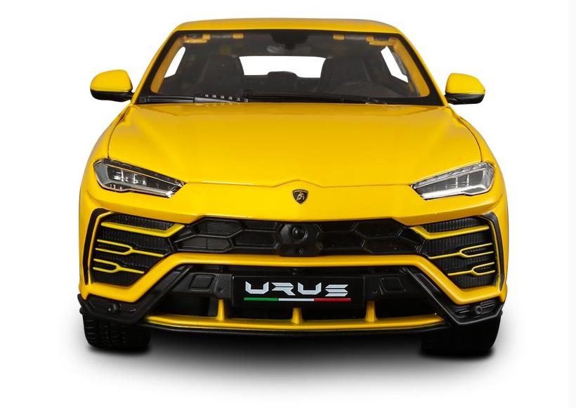 Bburago 1 18 Series Lamborghini URUS Gelb Diecast MODEL Racing SUV Car IN BOX