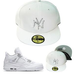 New Era New York Yankees Swarovski Crystal Stone Fitted Hat Jordan 4 ... d575316df