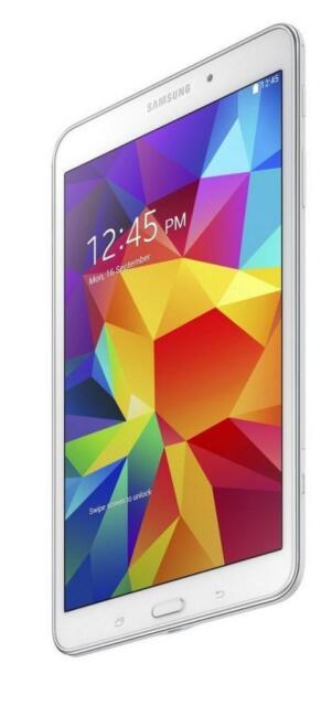 "Samsung Galaxy Tab 4 7"" WiFi Internet Tablet 8GB Bluetooth Android 4.4 *White* C"