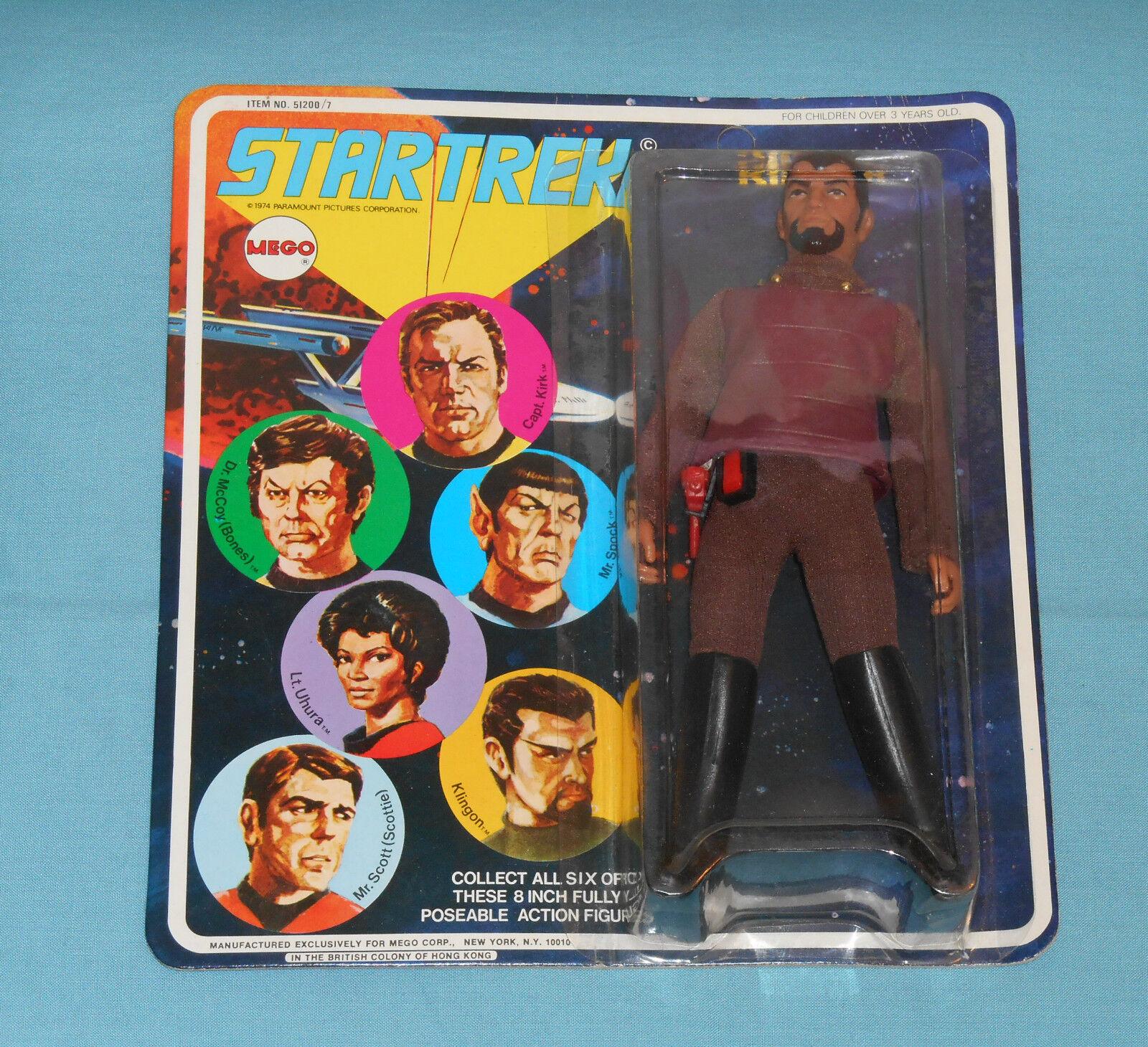 Vintage Mego Star Trek 8  KLINGON MOC  2
