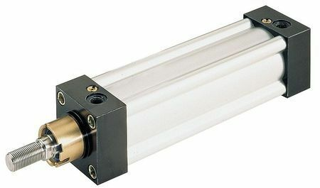 "SPEEDAIRE 5VLE2 2-1//2/"" Bore Double Acting Air Cylinder 8/"" Stroke"