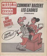 """CHARLIE HEBDO N°430 du 8/2/1979"" WOLINSKI : COMMENT BAISENT LES CADRES"