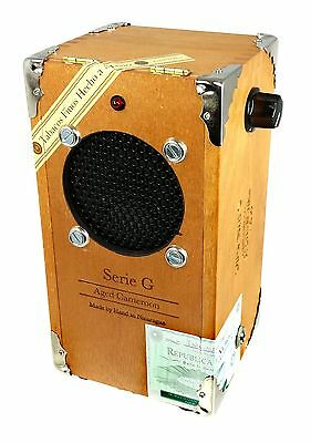Complete Cigar Box Guitar Amplifier KIT with All-Wood Oliva G Box 52-003-02