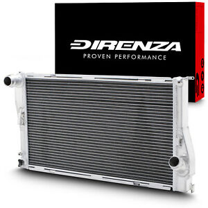 Direnza-en-alliage-d-039-aluminium-Radiateur-Rad-pour-BMW-3-Serie-E90-E91-E92-E93-320d-05-12