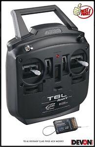 2 Tx Électriques 4ghz 6l Radio Mode 2 Futaba 6ch Télécommande R3106fg Hélicoptères ZqwEXwpU