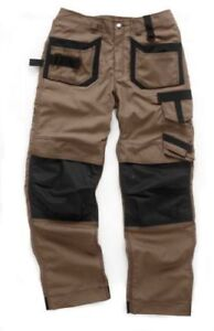 Scruffs Pro Trade Trousers Brown Work Pants Cordura