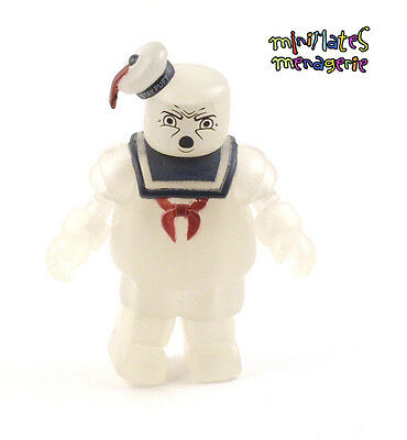 Ghostbusters Minimates SDCC Exclusive Glow in Dark Stay Puft /& GB2 Peter Venkman
