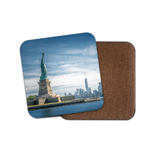 New York NY USA City Manhattan America Gift #15371 Statue of Liberty Coaster