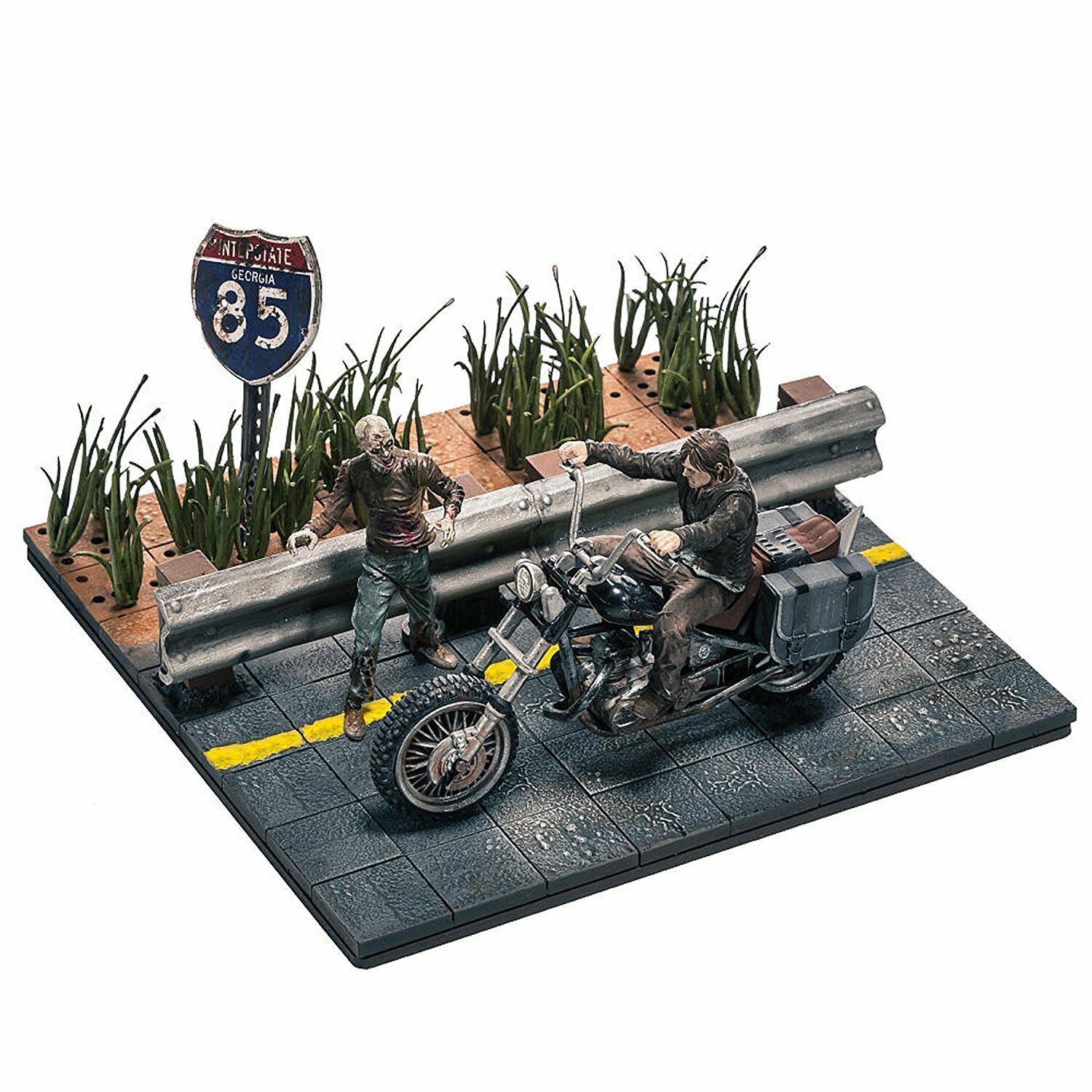 Walking Dead TV Series Toy - Construction Construction Construction Set - Daryl Dixon Figure with Chopper 13ae4c