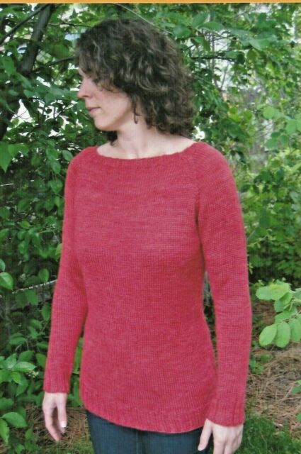 Neckdown Boat Neck Pullover Knitting Pure & Simple Pattern ...