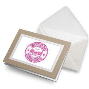 Greetings-Card-Biege-Pink-Canary-Islands-Spain-Islas-Canarias-19492
